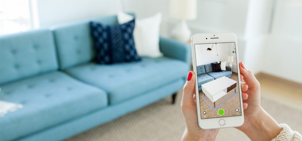 Houzz augmented reality apps