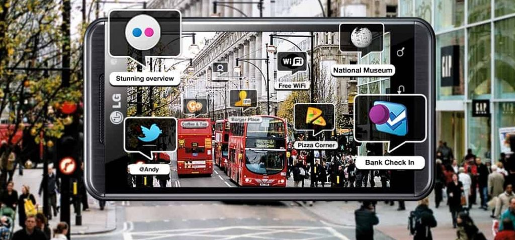 Wikitude augmented reality app