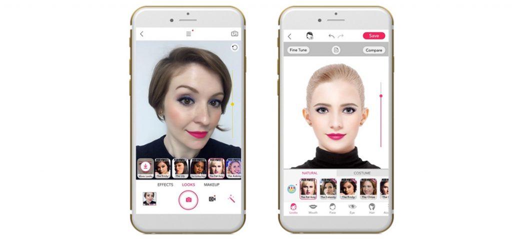 YouCap Makeup augmented reality app