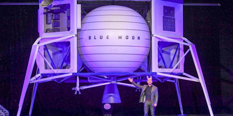 Jeff Bezos' Blue Origin Protests NASA's $2.9 Billion Moon Contract With SpaceX