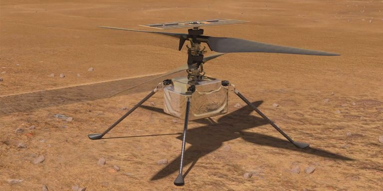 NASA's Ingenuity Helicopter on Mars Sets New Speed Record in Third Flight