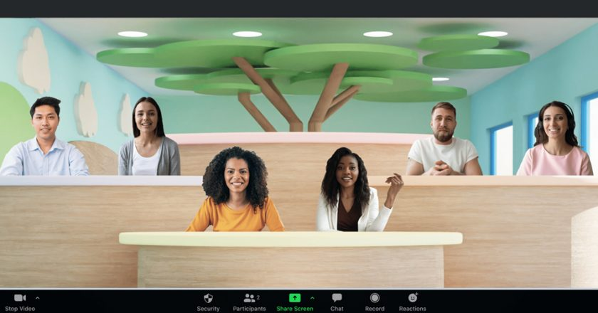 Have an Out-of-the-Box Approach to Meetings with Zoom 'Immersive View'